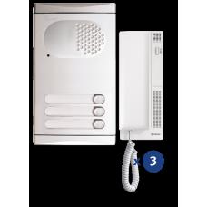 4130/AL kit θυροτηλεφώνου 3 κλήσεων