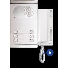 4260/AL kit θυροτηλεφώνου 6 κλήσεων