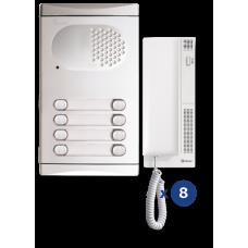 4280/AL kit θυροτηλεφώνου 8 κλήσεων