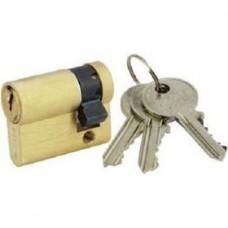 1009/007/5 Half cylinder with mechanical keys