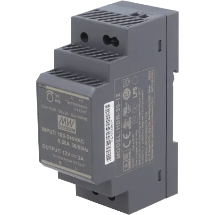 1014/041 Switching power unit 230 Vac/12 Vdc - 2 A