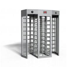 LTF414D Διπλή περιστροφική πύλη 4-βραχιόνων πλήρους ύψους