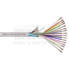 020161 Καλώδιο συναγερμού 100% χαλκός με θωράκιση 16 x 0.22mm