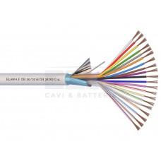 020201 Καλώδιο συναγερμού 100% χαλκός με θωράκιση 20 x 0.22mm