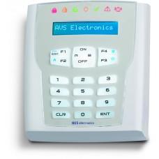 A500 PLUS WS4  Αμφίδρομο LCD ασύρματο πληκτρολόγιο LCD λευκού χρώματος